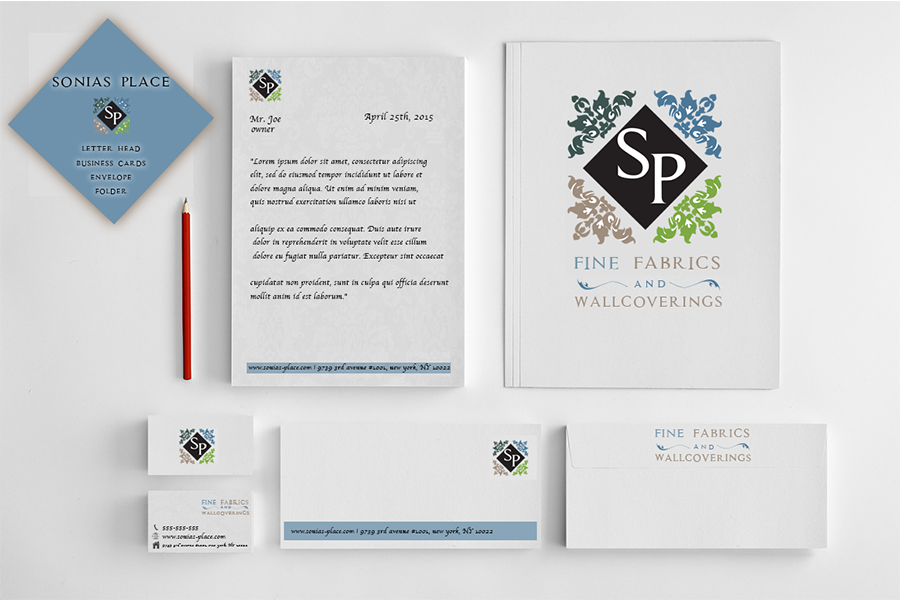 Company Letter Head & Business Card